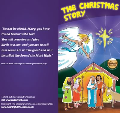 The Christmas Story from The Real Advent Calendar