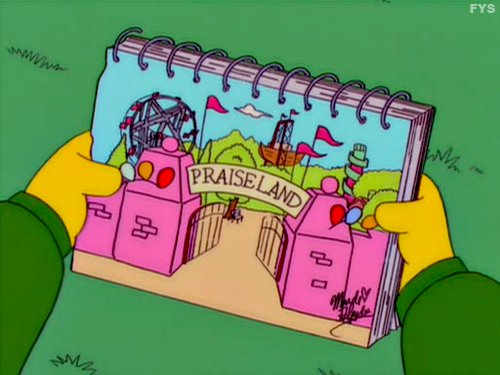 PraiseLand Simpsons