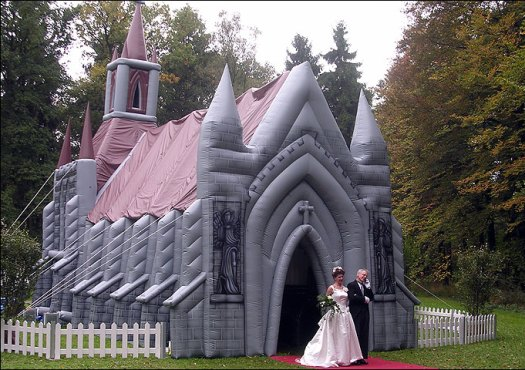 Inflatable-Church