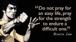 Bruce Lee Quote on Prayer