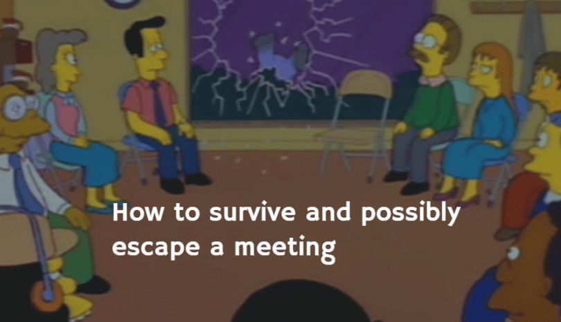10 Tips to Survive A Meeting