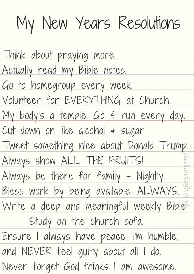 Christian New Years Resolutions (1)