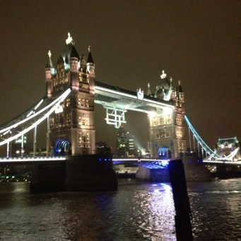 Tower Bridge dressed up for the Paralympics - the other side