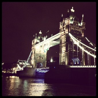 Tower Bridge dressed up for the Paralympics