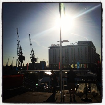 A sunny day in East London - yes, they do exist!