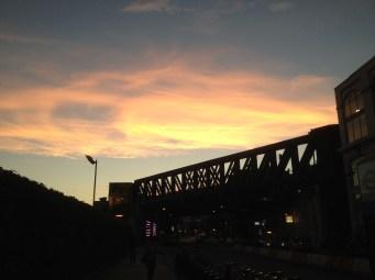 Sunset in London Bridge
