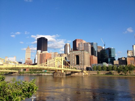 Pittsburgh - view from across the bridge