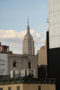 Skyline from the High Line - The Empire State Building