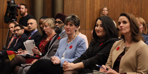 CIC Board Member Moderates Launch of Canada's Action Plan on Women, Peace and Security