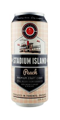 Brickworks – Stadium Island Peach Cider