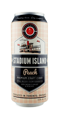 Brickworks – Stadium Island Peach Cider