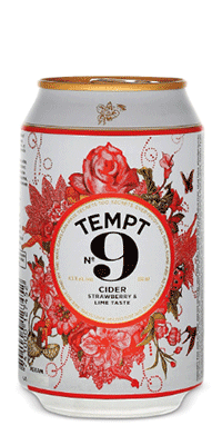 Tempt 9 – Strawberry & Lime