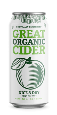 Great Organic Cider – Nice and Dry