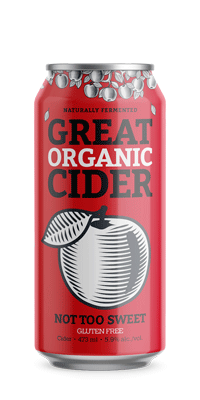 Great Organic Cider – Not Too Sweet