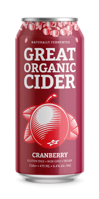 Great Organic Cider – Cranberry