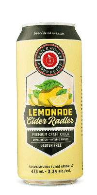 Brickworks Lemonade Cider Radler