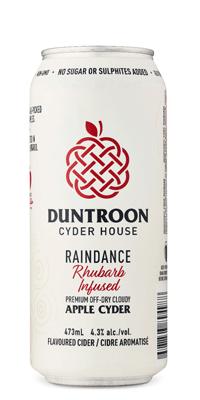 Duntroon – Raindance Rhubarb Apple Cyder