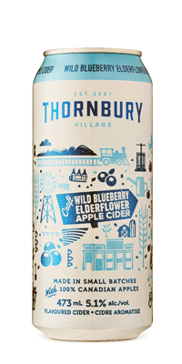 Thornbury – Blueberry Elderflower Apple Cider