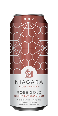 Niagara Cider – Rose Gold