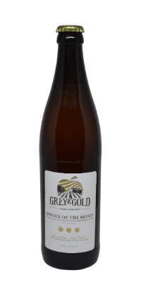 Grey & Gold – Spruce of the Bruce
