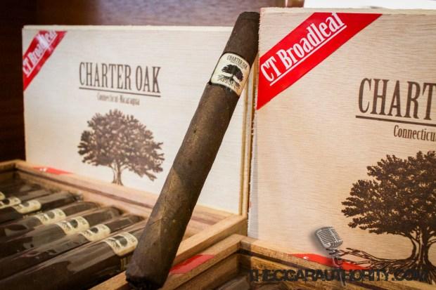 Charter Oak CT Broadleaf Maduro Lonsdale