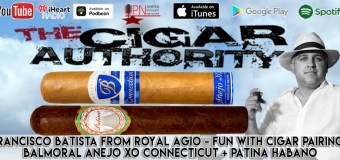 VODCast: Francisco Batista From Royal Agio & Fun With Cigar Pairings