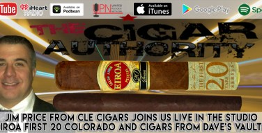 VODCast: The Price Is Right – Jim Price From CLE Cigars Joins Us Live