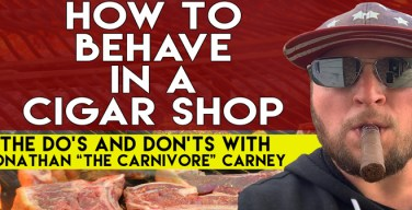 VODCast: How To Behave in a Cigar Shop – The Do's and Don'ts