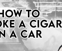 VODCast: How To Smoke a Cigar in a Car