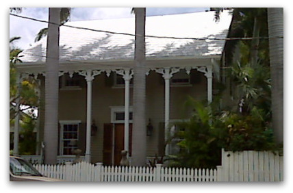 Eyebrow house in Key West Florida