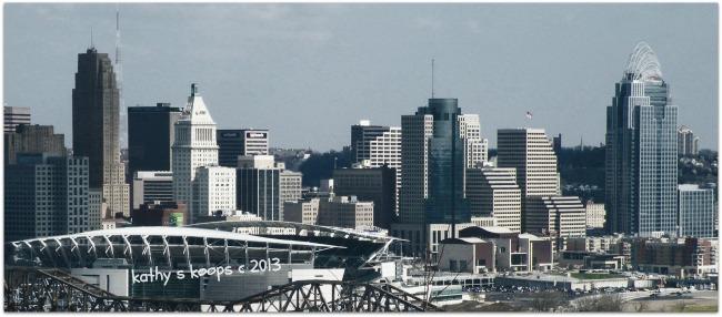 Ovelooking Cincinnati