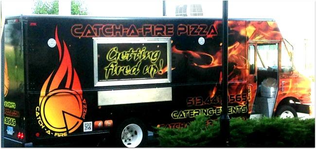 Catch-A-Fire Pizza