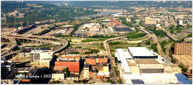 Cincinnati Looking to the West side