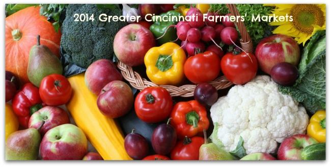 2014 Greater Cincinnati Farmers' Markets