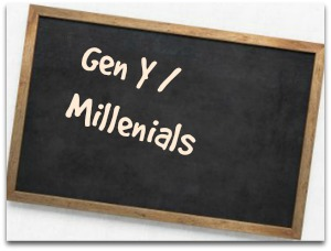 Milenials and Gen Y