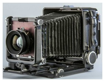 old fashioned camera