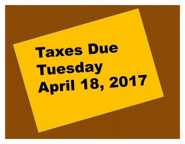 2017 tax day