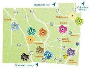 Donut Trail Map