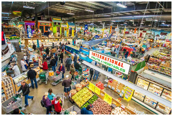 Inside Jungle Jims Market