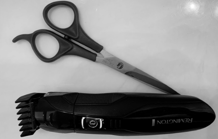 photo of clippers and scissors