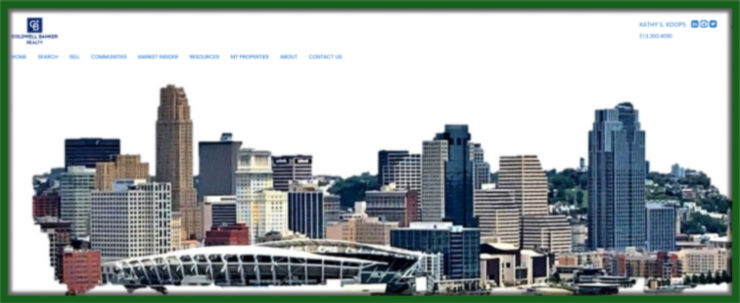 Photo of Cincinnati Skyline taken by Kathy Koops