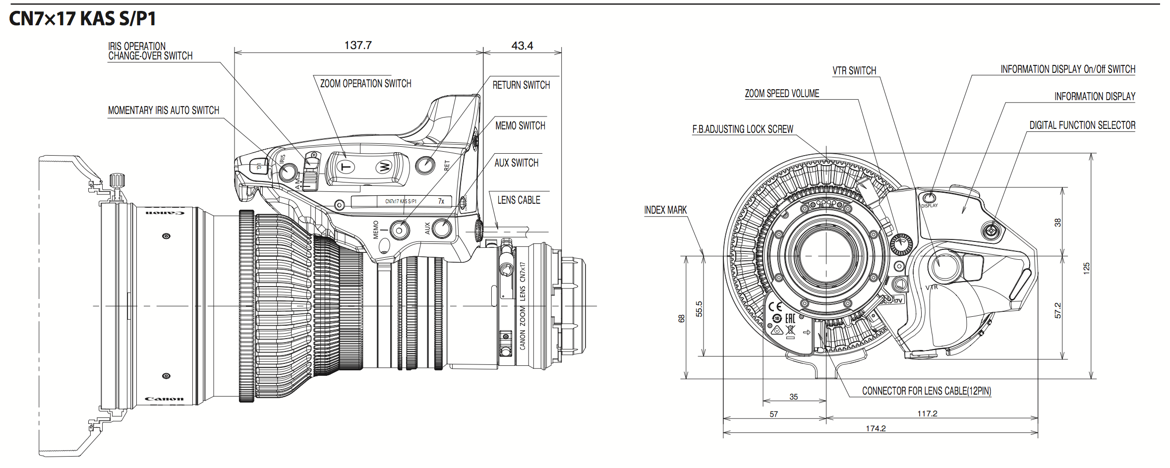 Canon Announces 17-120mm Cine Zoom Ahead of NAB