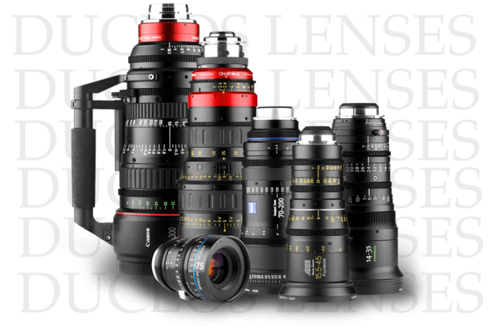 Duclos Lenses - Your Source for Professional Cinema Lenses