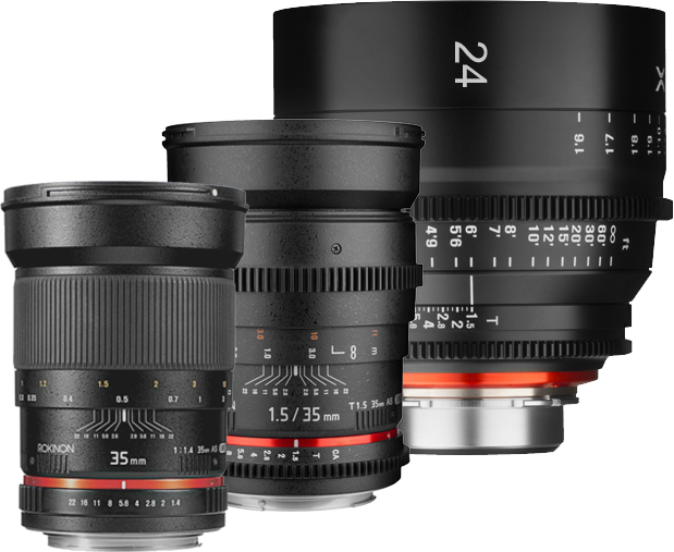 Rokinon, Cine, Cine DS, and Xeen – What's The Difference?