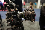 Brand new Leica 40mm Summicron-C prime on display at the CW Sonderoptic booth.