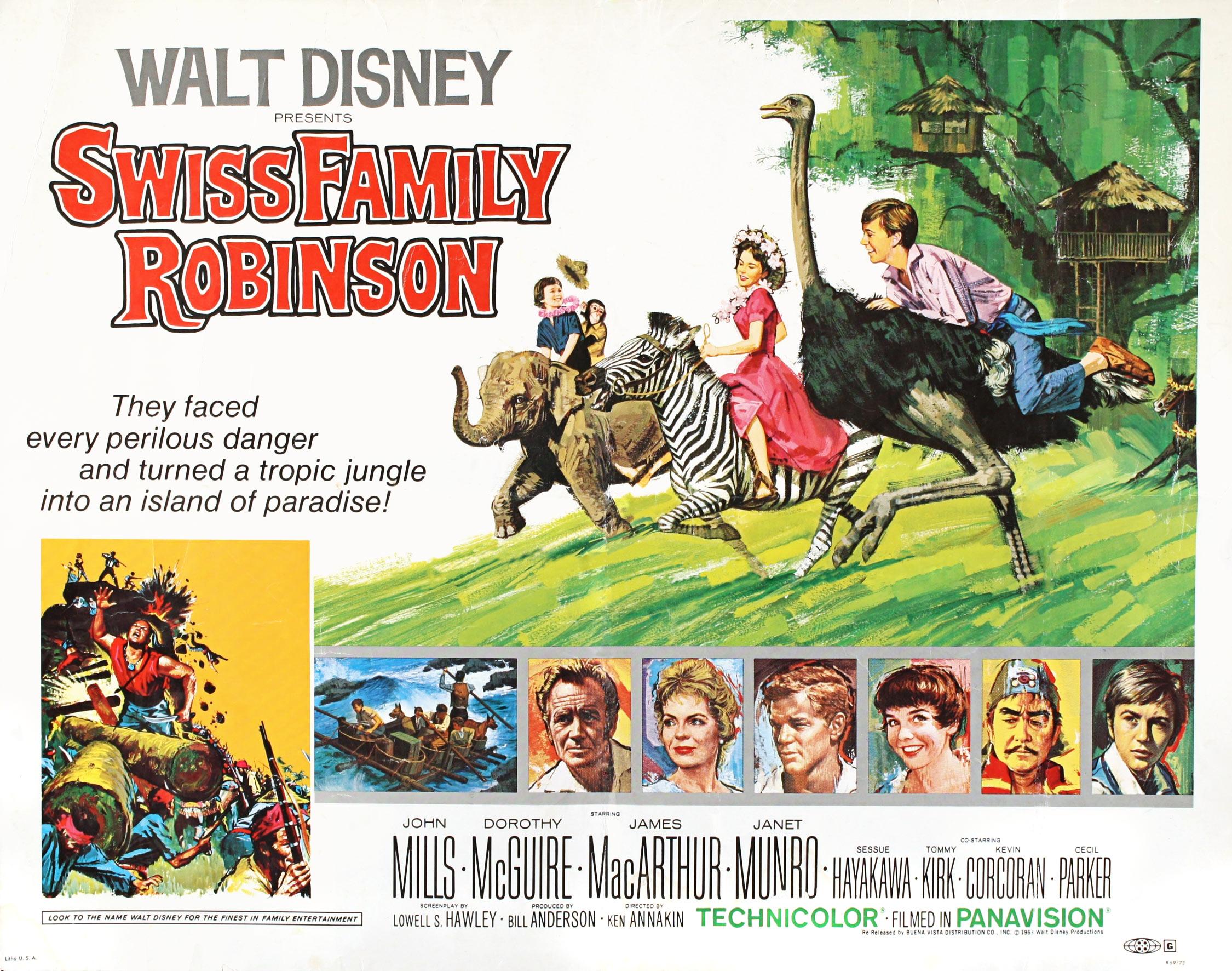 Swiss Family Robinson Annakin