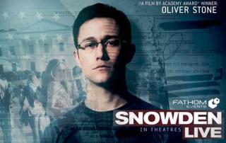 SnowdenLive Banner