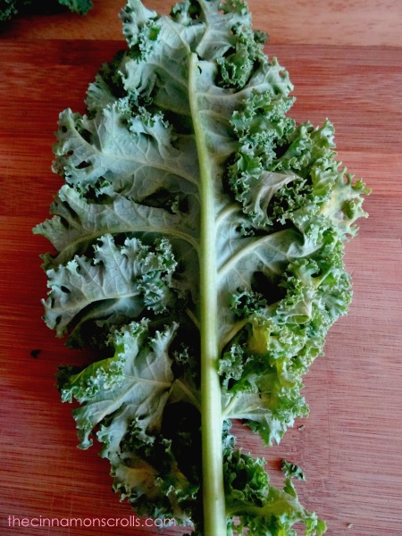 How to Prep Kale via thecinnamonscrolls | @cinnamonscribe