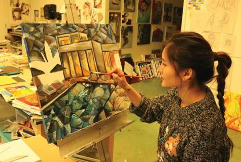 This winter, students dive into art through FSAs