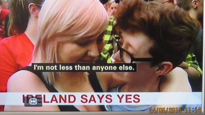 not less than anyone else-After the decisive victory for Gay Marriage in the Irish referendum